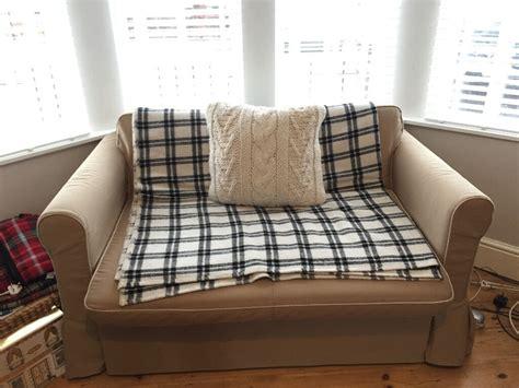 Copridivano Ikea Hagalund : 2 Seater Sofa Bed 'hagalund' Ikea Beige