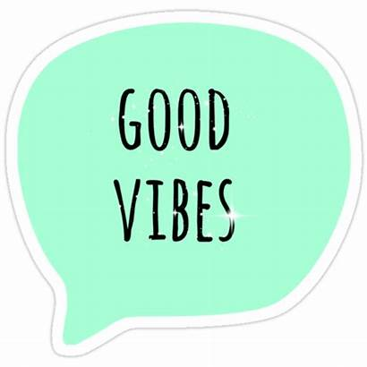 Vibes Redbubble Sticker Stickers