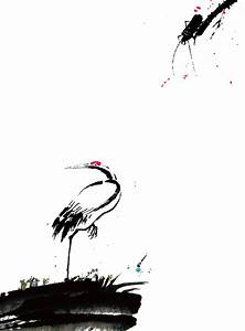 Red-crowned crane by diudiudiudiu on DeviantArt