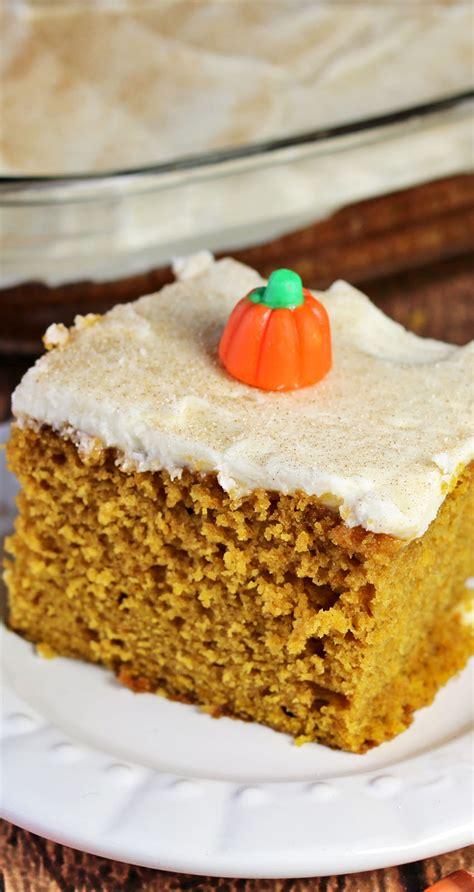 pumpkin snack cake pumpkinweek recipes food  cooking