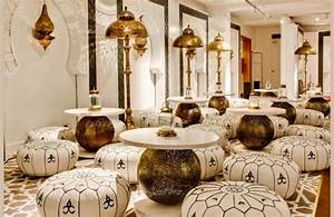 Pouf Pour Salon : poufs pour salons marocains traditionnels d co salon ~ Premium-room.com Idées de Décoration