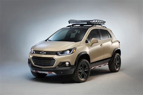 Small Chevrolet Suv by Chevy Trax Activ Concept Debuts At Sema The News Wheel