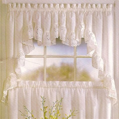 Kitchen Valance Curtains by United Curtain Vienna Kitchen Valance Modern Curtains