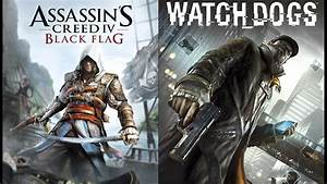 Watch Dogs vs Assassin's Creed IV PS4 & Xbox One Pre-Order ...