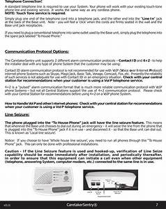 Logicmark Cs40914 Caretaker Sentry Base Unit User Manual