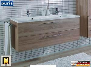 Waschtisch Set 120 Cm : puris fresh waschtisch set 120 cm mit doppelwaschtisch impuls home ~ Bigdaddyawards.com Haus und Dekorationen