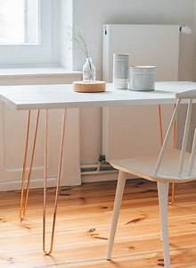 Hairpin Legs Baumarkt : table legs hairpin legs cooper by trivial project of berlin ~ Frokenaadalensverden.com Haus und Dekorationen
