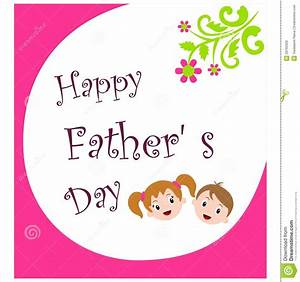 Happy Fathers Day Royalty Free Stock Image - Image: 29765306