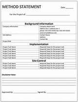 Concrete Repair: Method Statement For Concrete Repair Works