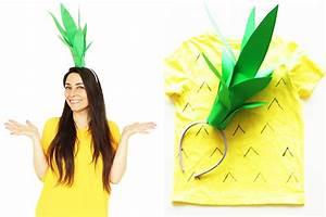 Ananas Kostüm Selber Machen : karnevals diy ananas kost m selber machen ~ Frokenaadalensverden.com Haus und Dekorationen
