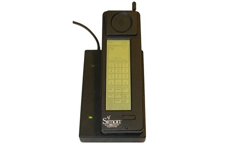 when was the smartphone invented факты первый смартфон в мире ibm simon мобильные