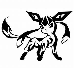 Glaceon Tribal Tattoo by Lan2007 on DeviantArt