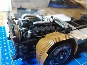 Camion  Italeri Scania R730 Black Amber