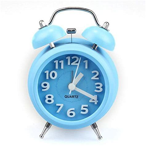 We hope you enjoy our site and please don't forget to vote for your favorite clock fonts. Lacaca New Fashion Lazy Small Loud Hammer Double-Bell Night Light Children Alarm Clock (Blue ...