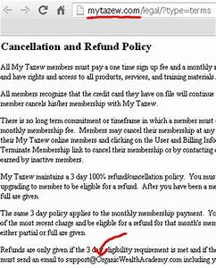 heres tazews cancellation and refund policy images frompo With refund cancellation policy template