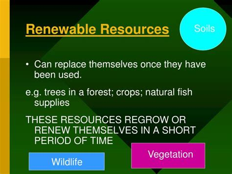 types  natural resources powerpoint