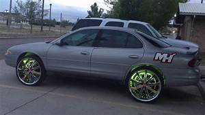 Dream Color Led Wheel Rings On 1999 Oldsmobile Intrigue On