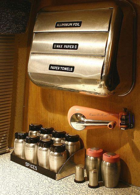 """Vintage Airstream Interior """"kitchen Accessories"""" Airstream"""