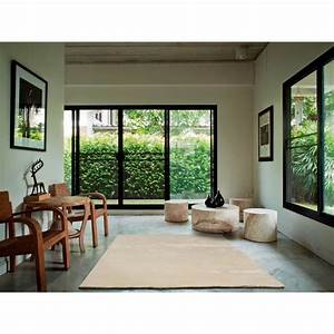 Tapis Bambou Casa : tapis bamboo blanc angelo en fibres de bambou 170x240 ~ Teatrodelosmanantiales.com Idées de Décoration
