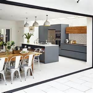 open plan kitchen design ideas open plan kitchens trend