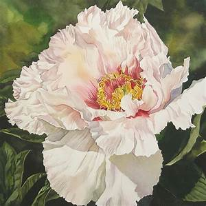 Chinese Tree Peony Painting by Alfred Ng