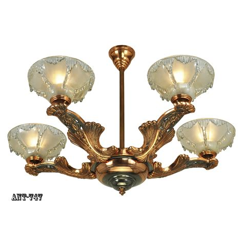 antique art deco ls antique art deco french chandelier ezan icicle light