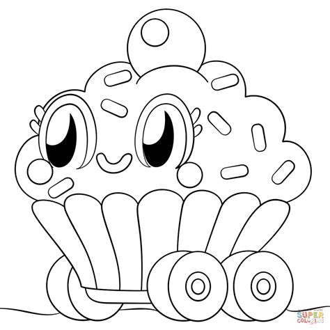 Moshi Monsters Cutie Pie coloring page Free Printable