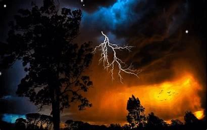 Lightning Storm Thunder Desktop Screen Phone Resolution