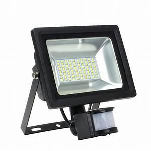 Projecteur Led Detecteur De Mouvement : projecteur led d tecteur de mouvement 30w 3600lm 4000k ~ Dailycaller-alerts.com Idées de Décoration