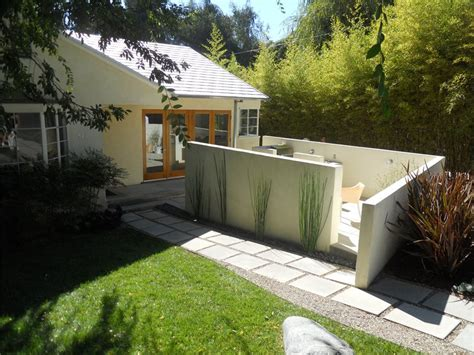stucco fence ideas functional front yards for entertaining landscaping network