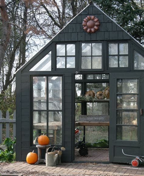 Building a greenhouse doesn't have to break the bank or be completely overwhelming. 15 Fabulous Greenhouses Made From Old Windows ...