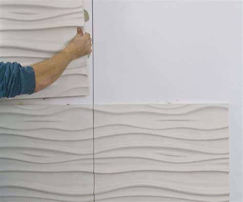 install  textured wall panels