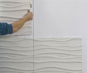 How to Install 3D Textured Wall Panels - All