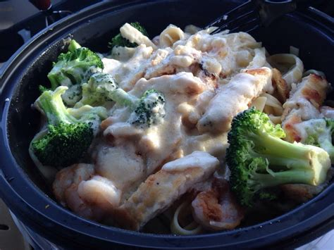 Olive Garden Lubbock Tx by Fettuccine Alfredo With Shrimp Chicken And Broccoli