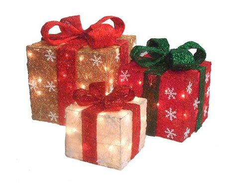 Best Christmas~~lighted Boxes Images On Pinterest