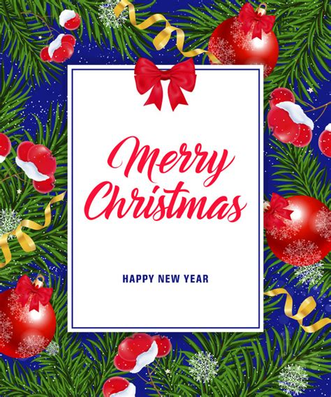 Happiness at christmas is remembering the people who mean so much all year. Merry christmas happy new year lettering | Free Vector
