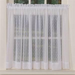 Dotted Sheer Curtains Sturbridge Yankee Workshop