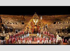 Aida all'Arena di Verona Versione Storica 1913 Carnet
