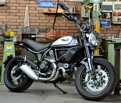 Ducati Scrambler Classic by Ducati Scrambler 800 Classic 2018 Fiche Moto