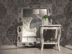 Tapete Ornamente Silber : vliestapete memory tapete barock 95372 3 953723 schwarz grau silber ~ Sanjose-hotels-ca.com Haus und Dekorationen
