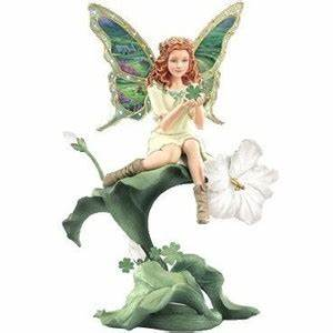Luck Of The Irish Collectible Fairy Figurine: Emerald Isle