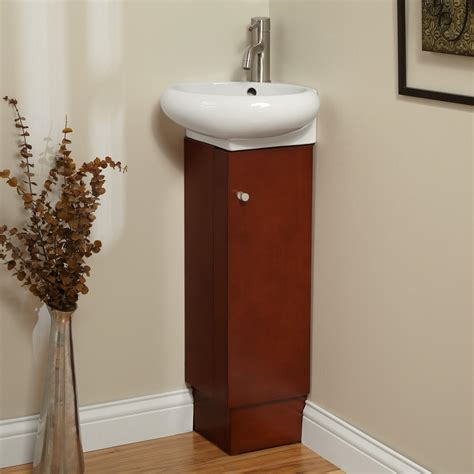 Corner Vanity Bathroom by 23 Quot Holbrook Corner Vanity Wenge Bathroom