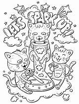 Coloring Weed Adults Adult Printable Skull Mandala Fairy sketch template