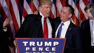 Trump picks RNC chair Priebus as WH chief of staff ...