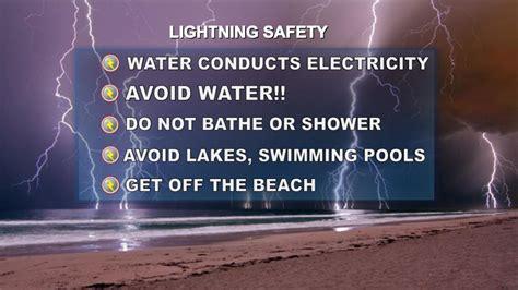lightning safety tips wnep