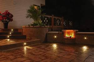 Outdoor led lighting for patios : Truly innovative garden step lighting ideas