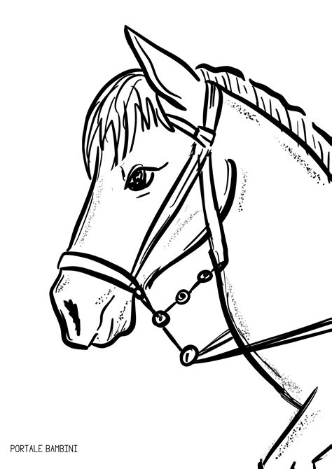disegni da colorare per bambini di 3 4 anni disegni di cavalli da colorare portale bambini
