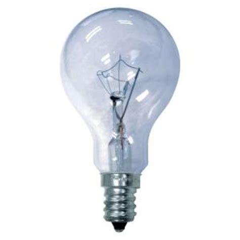 reveal light bulbs ge reveal 40 watt incandescent a15 multi use ceiling fan