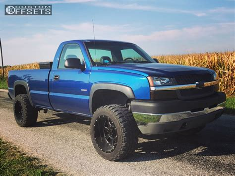leveling kitstock wheelsoversized tires pics chevy 2003 chevrolet silverado 2500 hd classic gear alloy big