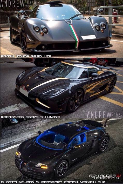 The world's most expensive cars are rarely up against one another on a drag strip, but here's a feast for the eyes! 3 Awesome Supercars! Pagani Zonda Absolute, Koenigsegg ...